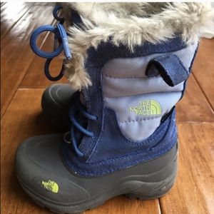 North face kids boots size 11